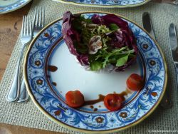 Salad with cherry tomatos at the La Cucina restaurant aboard the Norwegian Pearl.jpg