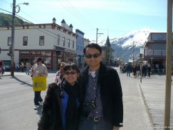 David and Joann on Skagway main street.jpg