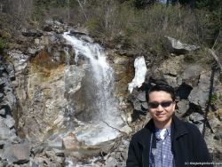 David in front of a Skagway waterfall in Alaska.jpg