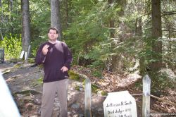 Tour guide explains Soapy Smith story in Skagway Gold Rush Cemetary.jpg